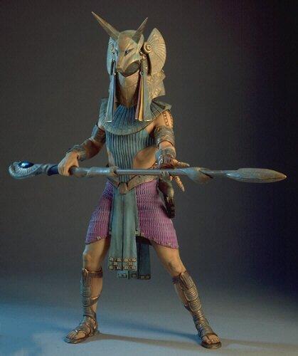Anubis Stargate maquette